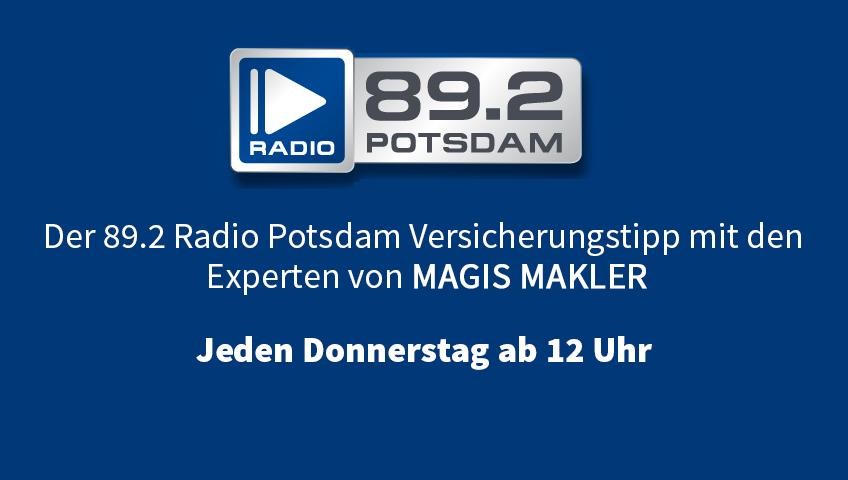 Der 89.2 Radio Potsdam Versicherungstipp